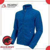 【MAMMUT 瑞士 Innominata Adv ML Jkt 男《群青藍》】1010-21781/羊毛衣/中層/外套/保暖