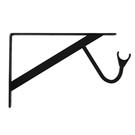 重型曬衣架板托12.4 *7.9 ,黑色一入 _適用層板(深30公分)