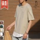 【ZIP FIVE】五分袖T恤&長版坦克背心
