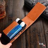 煙盒牛仔紋電子煙盒煙套保護套皮套外殼收納盒情人節禮物送男友 萊爾富免運
