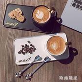 咖啡杯套裝 創意咖啡杯套裝陶瓷情侶杯子 ZB1670『時尚玩家』
