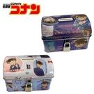 【日本正版】名偵探柯南 鐵盒 存錢筒 小費盒 收納盒 附鑰匙 可上鎖 怪盜基德 542869 542876