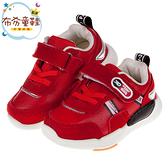 《布布童鞋》BABYVIEW皮質帥氣紅色寶寶機能學步鞋(14~16.5公分) [ O9Q150A ]