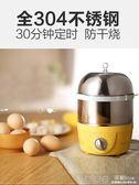 煮蛋器迷你蒸蛋器不銹鋼雙層家用小型煮蛋機煮蛋神器蒸雞蛋器 深藏blue