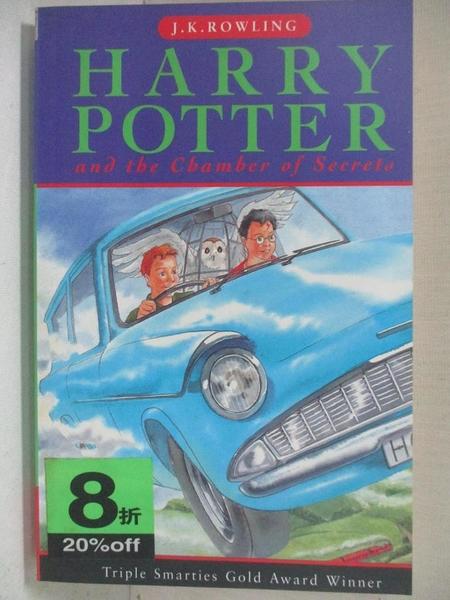 【書寶二手書T1/原文小說_BY3】Harry Potter and the Chamber Of Secrets_J. K. Rowling