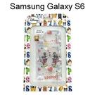 迪士尼透明軟殼 Samsung G9200 Galaxy S6 [親親] 米奇 米妮【Disney正版授權】