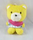 【震撼精品百貨】Daisy & Coro 熊與兔~三麗鷗熊黃熊~娃娃吊飾『格紋*81304』