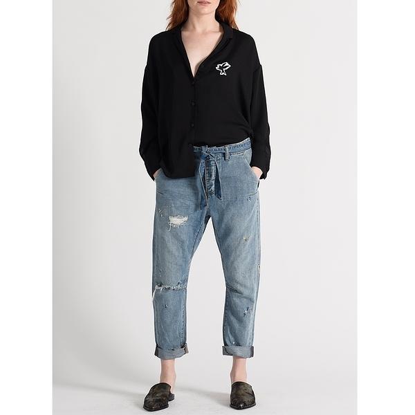 OneTeaspoon 牛仔褲 HEARTLAND CAVALRIES TAPERED BOYFRIEND JEAN-藍(女)