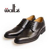 Waltz-「MIT」時尚經典雕花紳士鞋514035-02(黑)