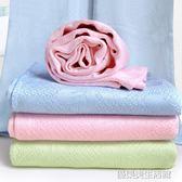 嬰兒蓋毯 新生兒童小毛巾被 寶寶竹纖維空調夏季涼被薄款冰絲毯子