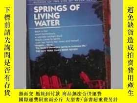 二手書博民逛書店英文原版罕見Springs of Living Water by