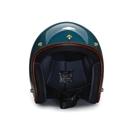 飛喬安全帽,復古帽,德瑞克(DEREK)/亮光青岩藍