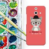 ✿ 3C膜露露 ✿ HTC One E8【小灰貓*水晶硬殼 】手機殼 保護殼 保護套 手機套