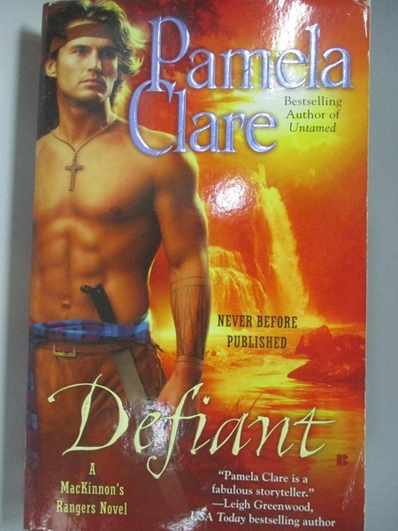 【書寶二手書T3/原文小說_AC8】Defiant_Clare, Pamela