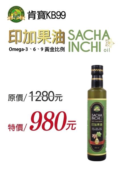 肯寶KB99印加果油 260ml/瓶