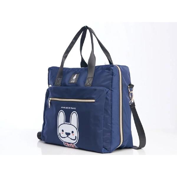 LAZY MARU方形旅行袋(可手提,側揹單肩揹旅行袋)雙色任選