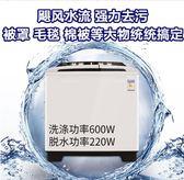 洗衣機 海鷗巨無霸15公斤大功率半自動雙桶洗衣機家用不銹鋼賓館酒店大容  IGO