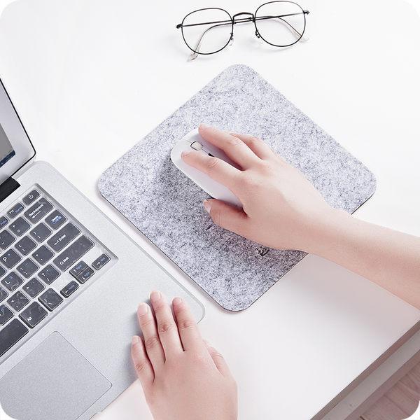加厚毛氈鼠標墊創意筆記本電腦鼠標墊辦公桌墊家用書桌游戲鼠標墊