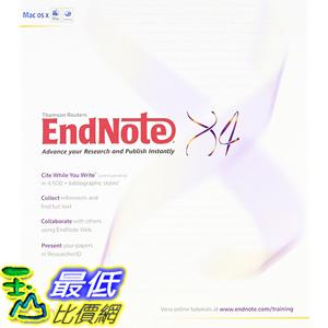 [美國直購] Endnote X4 5064 for Windows [Old Version]