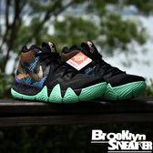 Nike Kyrie 4 Mamba Mentality 曼巴 黑 綠 黃 籃球鞋 男 (布魯克林) 2018/5月 AV2594-001