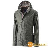 荒野 Wildland 男 絲絨防潑防風保暖外套 『橄欖綠』A22916