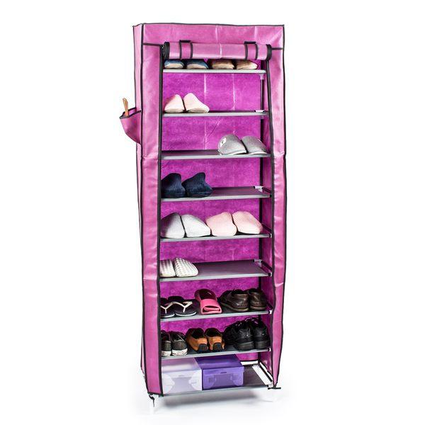 鞋櫃 鞋架 單排十層(含頂層)DIY組合防塵鞋櫃 鞋 收納【A025】