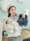 棉拖鞋女冬季家居包跟室內家用產後情侶毛絨月子可愛秋冬兒童棉鞋   koko時裝店