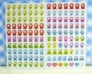 【震撼精品百貨】Hello Kitty 凱蒂貓~KITTY貼紙-心情貼紙-彩色(黃收入)
