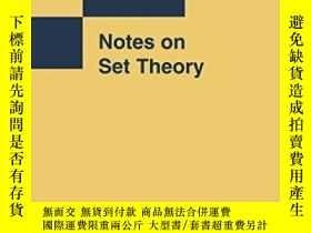 二手書博民逛書店Notes罕見On Set TheoryY380406 Yiannis N Moschovakis Sprin
