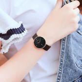 手表鋼帶超薄女學生潮流簡約女士防水時尚款女大表盤女表吾本良品