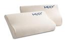 Mlily夢百合慢回彈零壓記憶棉枕頭宿舍護頸椎助睡眠枕單人記憶枕