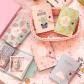 清新卡通水果卡包多卡位大容量學生卡套防消磁信用卡夾零錢包
