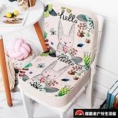 可拆洗加高透氣座椅安全椅墊餐椅增高坐墊【探索者戶外生活館】