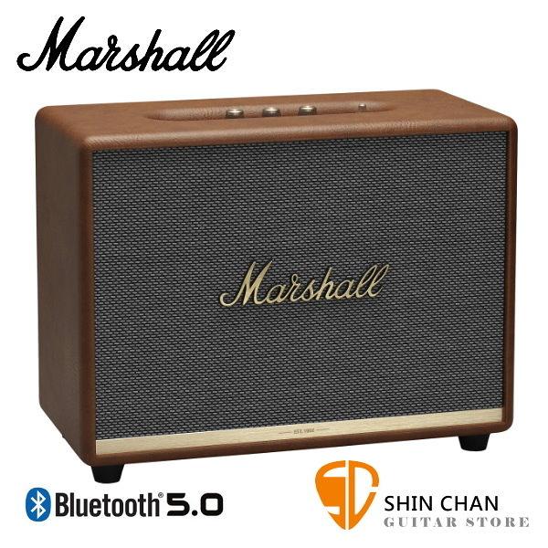 【缺貨】Marshall Woburn II 藍牙喇叭 復古棕 全新2代 Woburn Ⅱ 無線喇叭 藍牙音箱音響 / 台灣公司貨