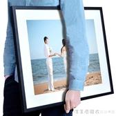 洗照片a3大尺寸相框掛牆創意710a416寸相片牆定制組合連身做成 漾美眉韓衣