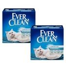 【Ever Clean】藍鑽結塊貓砂-25磅(11.3kg)X2盒-白標