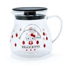 【震撼精品百貨】Hello Kitty 凱蒂貓~三麗鷗SANRIO~耐熱玻璃密壺--草莓*37089