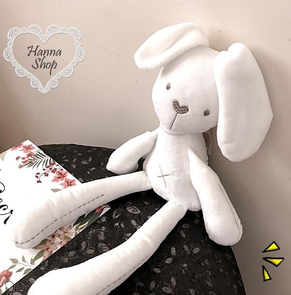 《花花創意会社》美國外流。萌萌噠米白睡眠兔【H5113】
