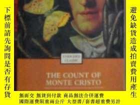 二手書博民逛書店英文原版罕見The Count of Monte Cristo
