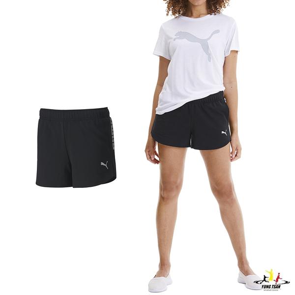 Puma Rebel 女 黑色 短褲 運動短褲 真理褲 訓練系列 運動 慢跑 健身 瑜珈 棉質 短褲 58148501