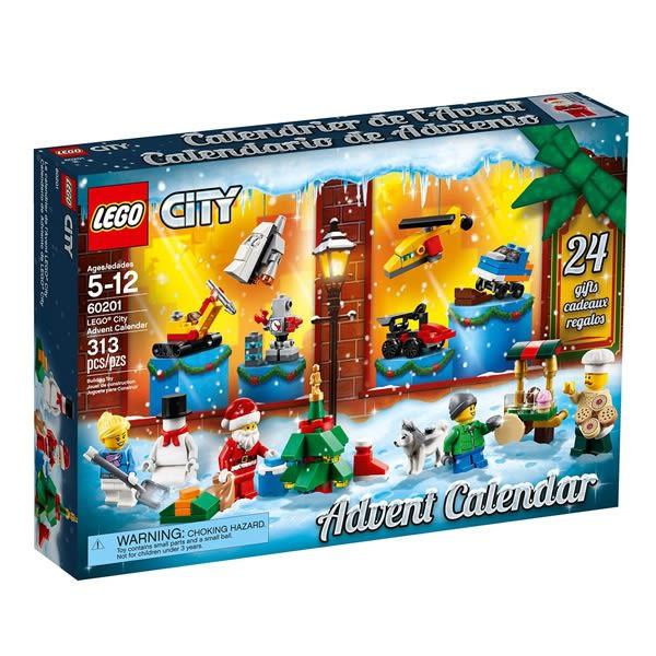 樂高積木LEGO 城市系列 60201 城市聖誕倒數日曆 Advent Calendar