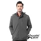 【PolarStar】男 防風天鵝絨保暖外套『鐵灰』P20205 上衣 休閒 戶外 登山 吸濕排汗 冬季 保暖 禦寒