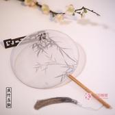 扇子 古風扇子夏季團扇中國風舞蹈古典古裝宮廷女式漢服流蘇小圓扇