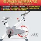 動感單車 休閒女家用跑步鍛煉健身車健身房器材腳踏室內運動自行車T 2色