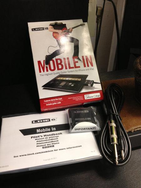 【金聲樂器】全新 Line 6 Mobile In 電吉他 輸入介面 對應 iPhone iPad 保證公司貨