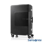 Samsonite新秀麗 25吋Tri-Tech摩登PC鋁框減震輪TSA海關鎖行李箱(霧黑)