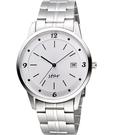 STAR 藝術時尚簡約風情腕錶-銀 9T1407-231S-W
