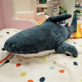 布羅艾大鯊魚 毛絨玩具 鯊魚寶寶靠枕抱枕禮物『快速出貨』YTL