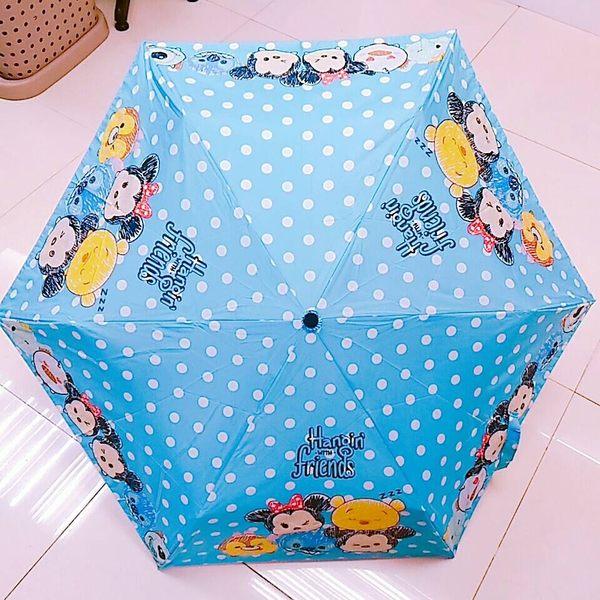 迪士尼TSUM TSUM米奇米妮維尼唐老鴨史迪奇雨傘折疊傘遮陽傘654198通販屋