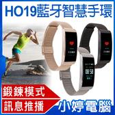 【3期零利率】福利品出清 HO19藍牙智慧手環 彩色螢幕 Line推播通知 來電顯示 公里數 卡路里